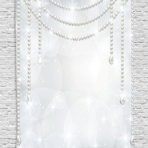 Tapestry Danging Pearls Wall Hanging Backdrop